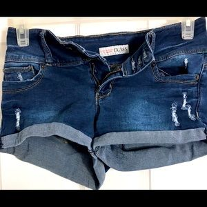 GUESS women's denim shorts